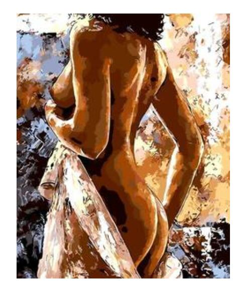 Nude Lady - Paint by Numbers Kits for Adults