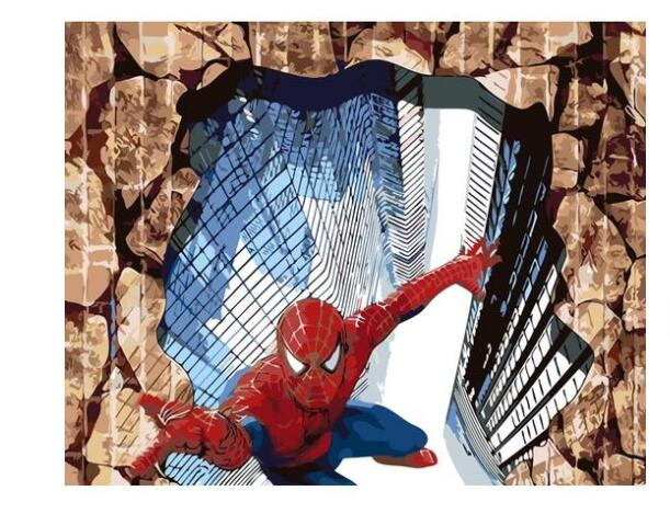 Spiderman - Paint by Numbers Kits