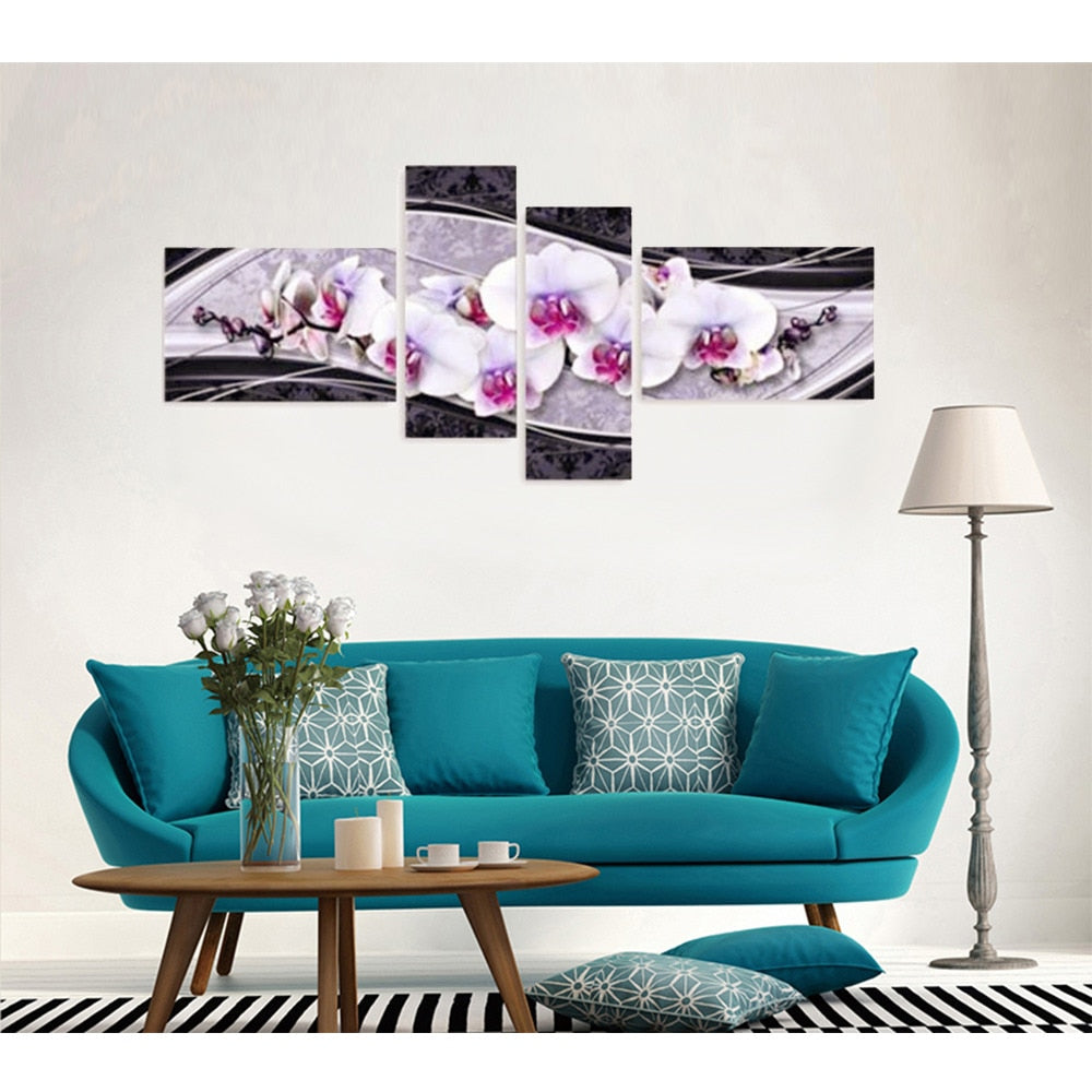 Huge Flower Concept Art - 5d Diamond Painting Kit