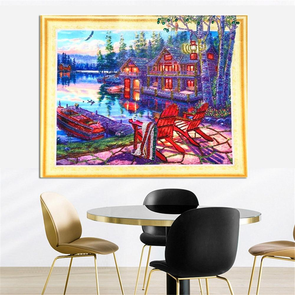 Home Landscape - 5d Diamond Painting Kit