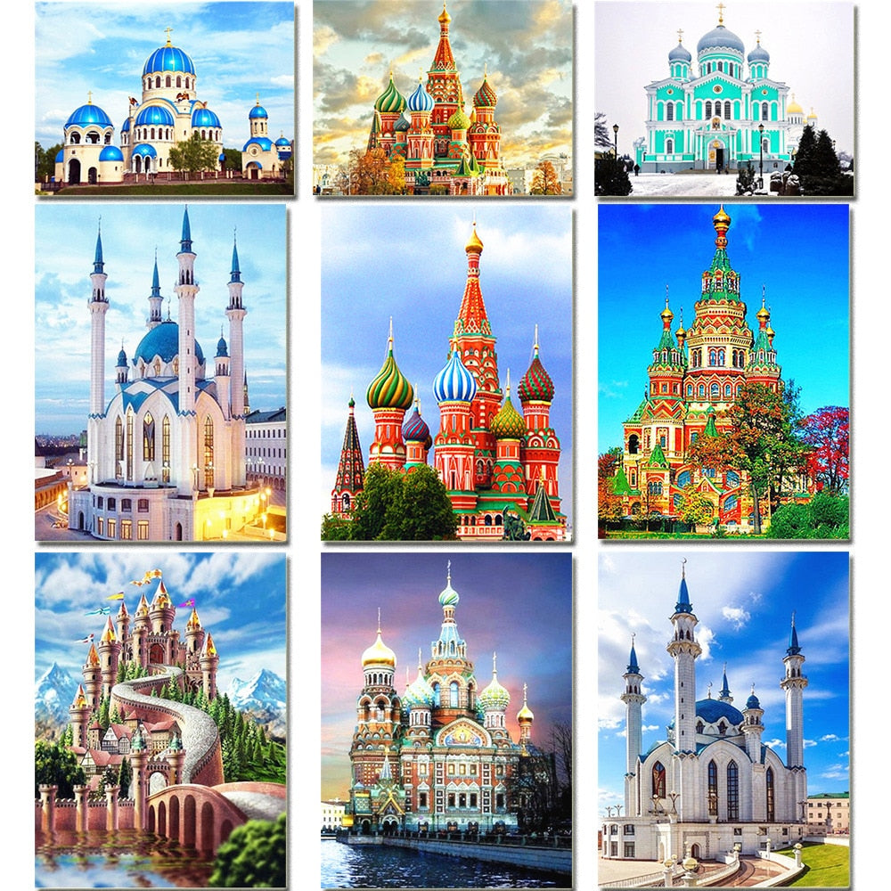 Orthodox Art And Churches - 5d Diamond Painting Kit