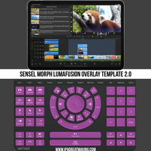 Load image into Gallery viewer, Sensel Morph: LumaFusion Overlay Template 2.0