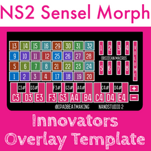 Load image into Gallery viewer, Sensel Morph: NanoStudio 2 Innovator Overlay Template