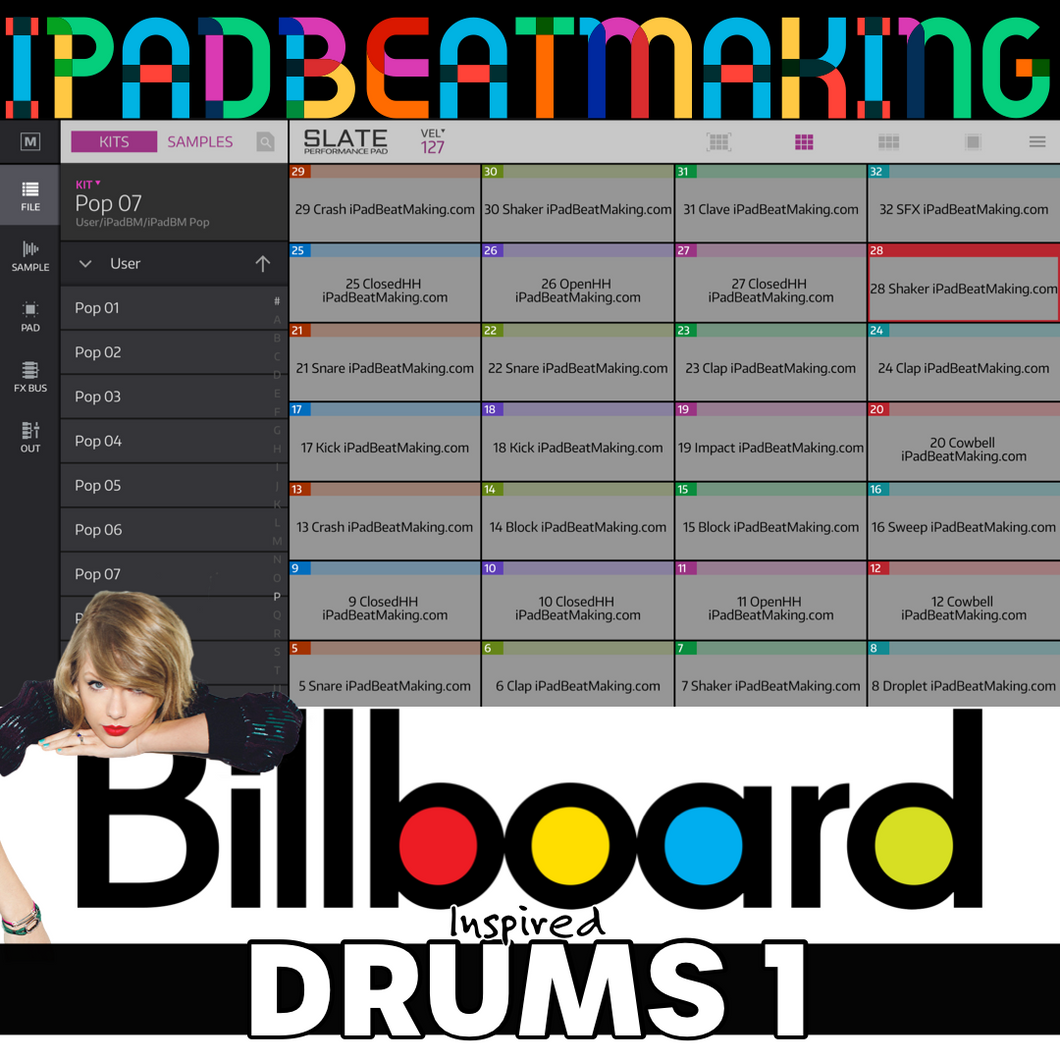 NS2 Slate: BillBoard Drums 1