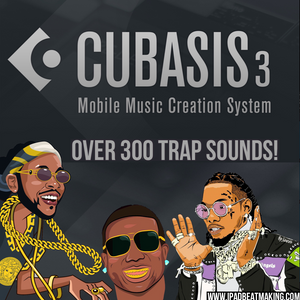 Cubasis 3: Trap Drum Kit
