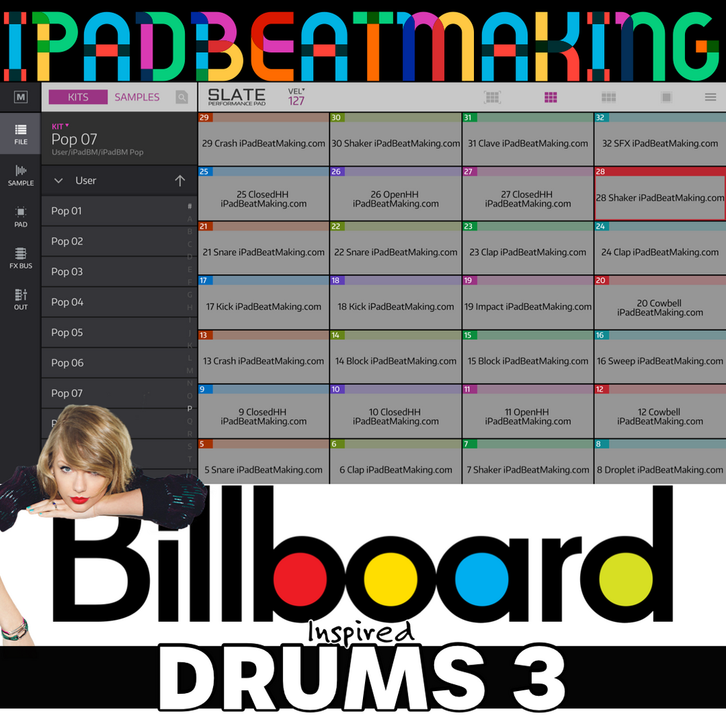 NS2 Slate: BillBoard Drums 3