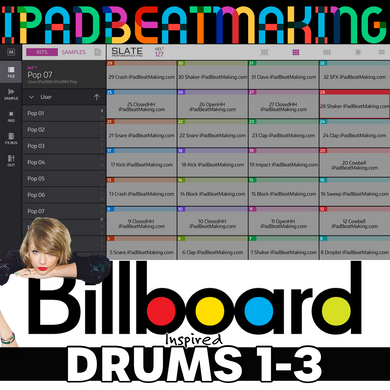 NS2 Slate: BillBoard Drums 1-3