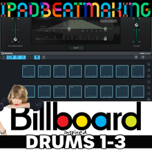 Load image into Gallery viewer, Cubasis 3: BillBoard Drums 1-3