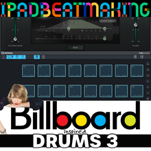Load image into Gallery viewer, Cubasis 3: BillBoard Drums 3