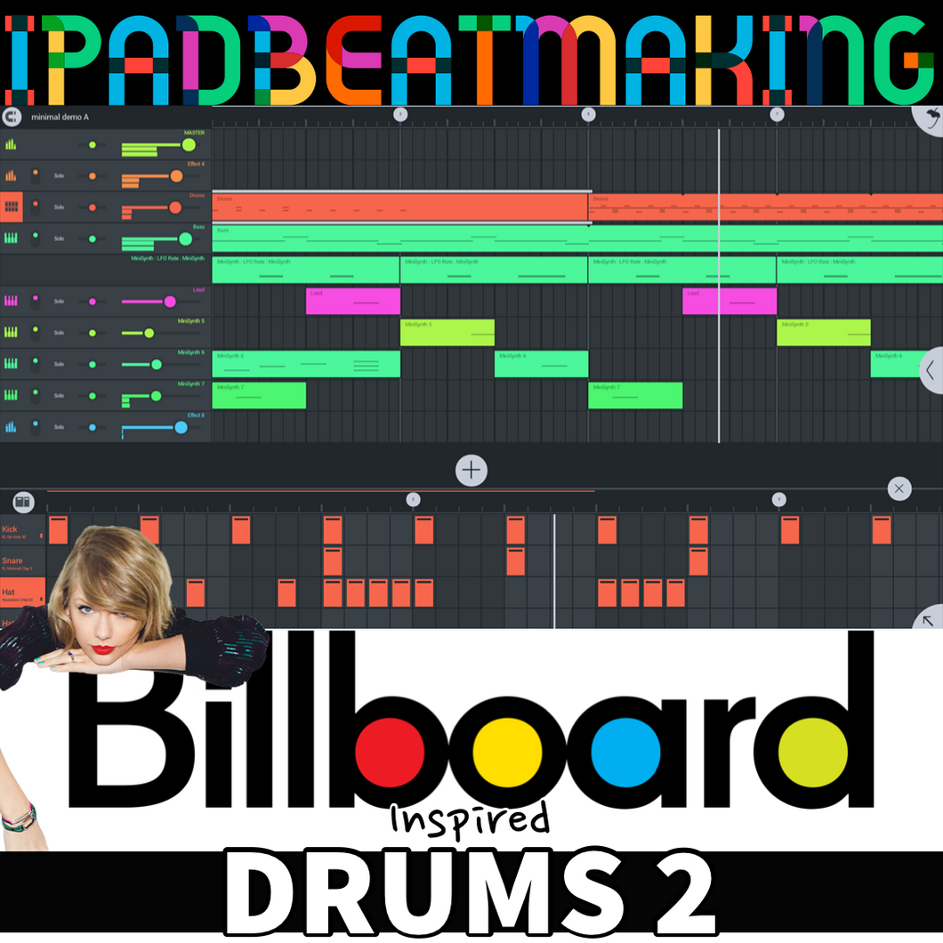 FL Studio Mobile: BillBoard Drums 2