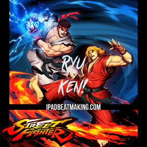 Street Fighter: Ryu vs Ken! NOT 4 SALE!