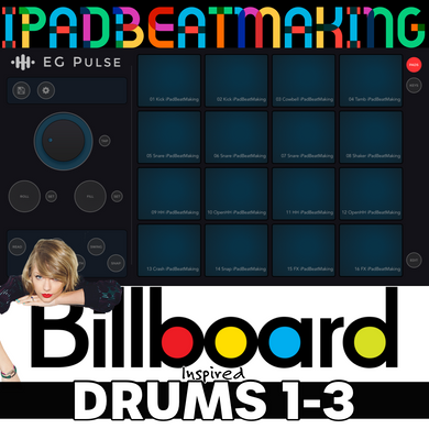 EG Pulse: BillBoard Drums 1-3