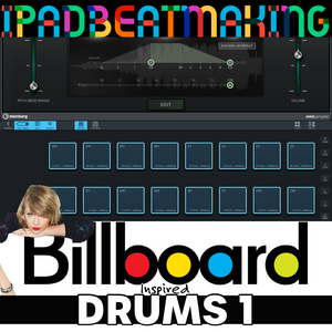 Cubasis 3: BillBoard Drums 1