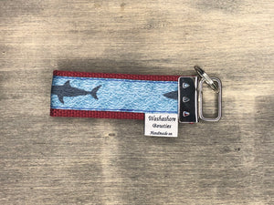 Cape Cod Shark Keychain
