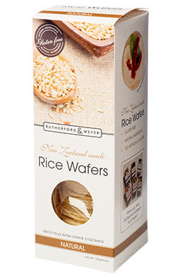 Rutherford & Meyer Natural Rice Wafers