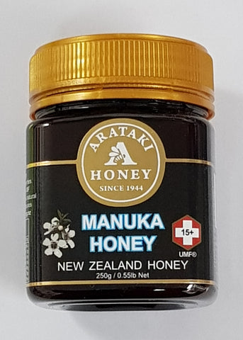 Arataki Honey - Manuka UMF 15+ Honey 250g