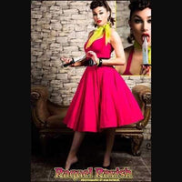 Rockabilly-Pink-50s-Swing-Dresses-For-Sale