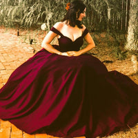 Floor-Length-Burgundy-Ballgown-Lovergirl-Couture