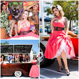 Rockabilly-Bridesmaid-Dresses