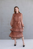 Diana Cinnamon Dress
