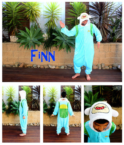 Finn - Adventure Time Onesie