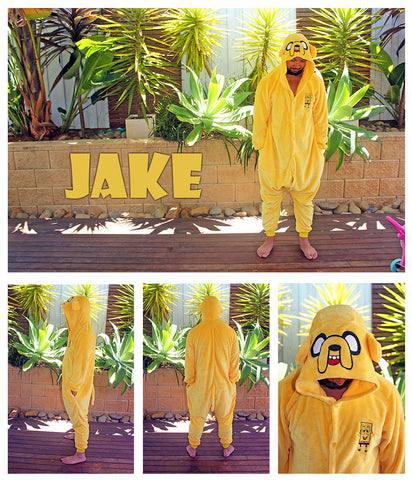 Jake (Adventure Time) & Spongebob Onesie