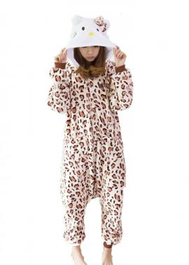 Kids Leopard Hello Kitty Onesie