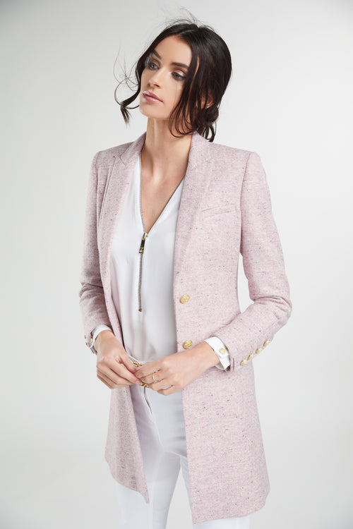 Kempton Coat (Soft Pink)