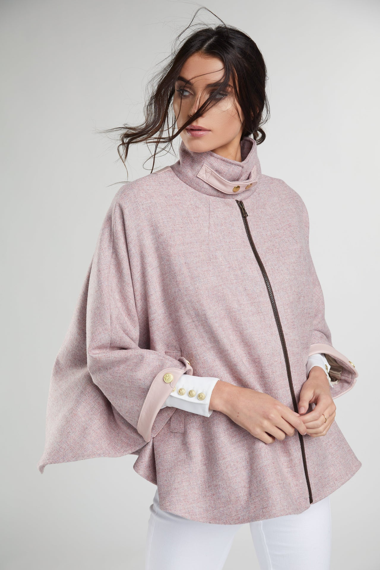 The Classic Cape (Pink)