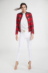 Windsor Jacket (Red Tartan)