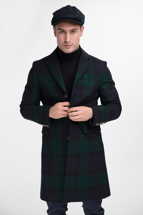 Finsbury Over Coat (Black Watch)