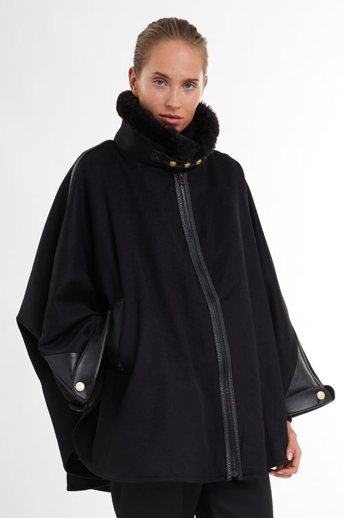Chiltern Cape (Soft Black)