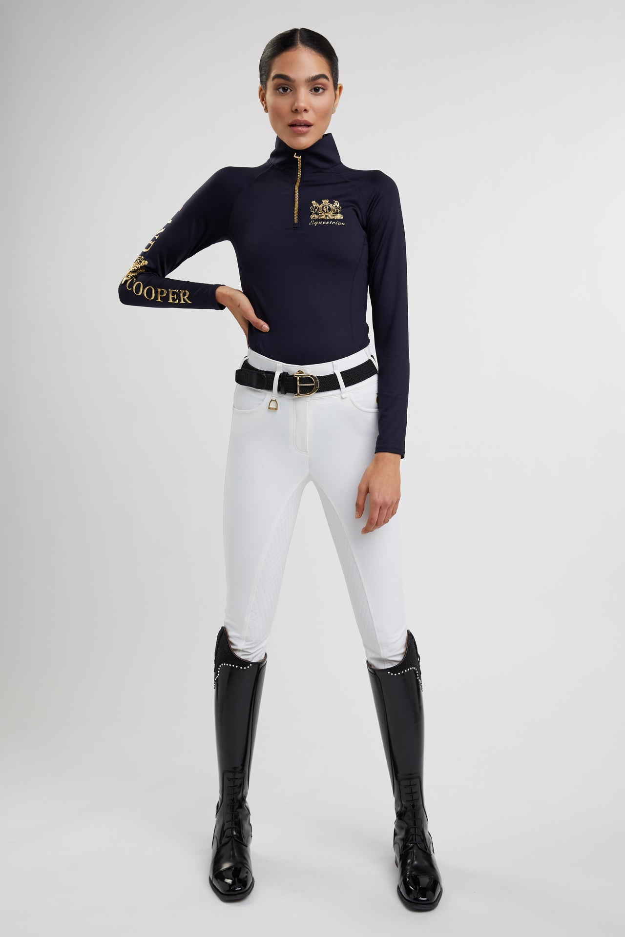 Competition Equi Breeches (Optic White)