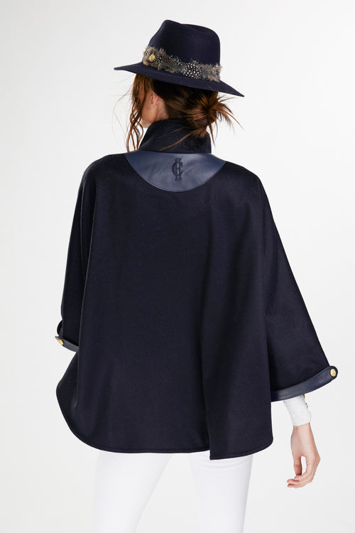 The Classic Cape (Navy)