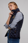 Equi Diamond Quilt Classic Gilet (Ink Navy)