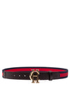 HC Classic Belt (Brown with Navy & Red)