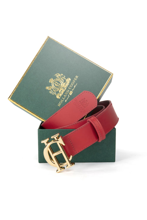 HC Classic Belt (Red)
