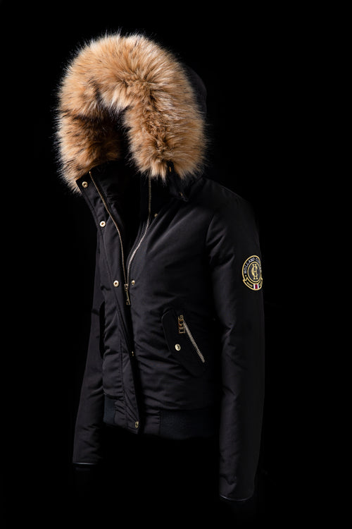 Cortina Bomber (Black)