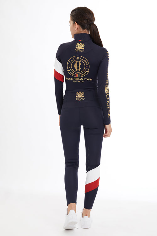 Heritage Equi-Legging (Ink Navy)