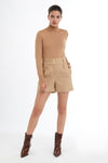 Luxe Tailored Short (Camel)