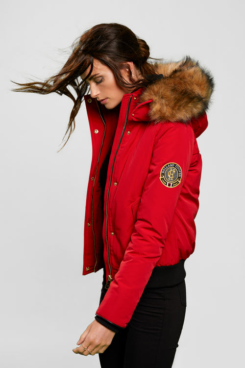 Cortina Bomber (Red)