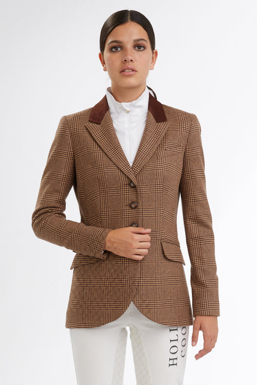 Tweed Riding Jacket (Tawny)