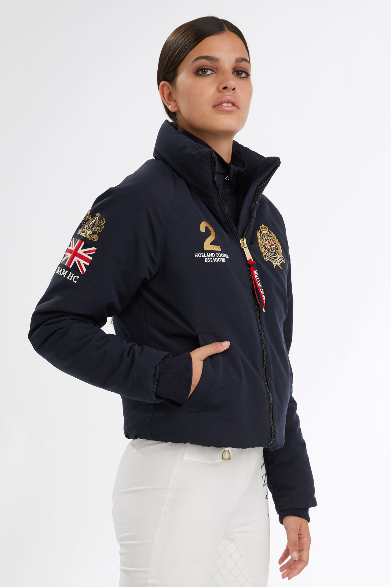 Equi Team Jacket (Ink Navy)
