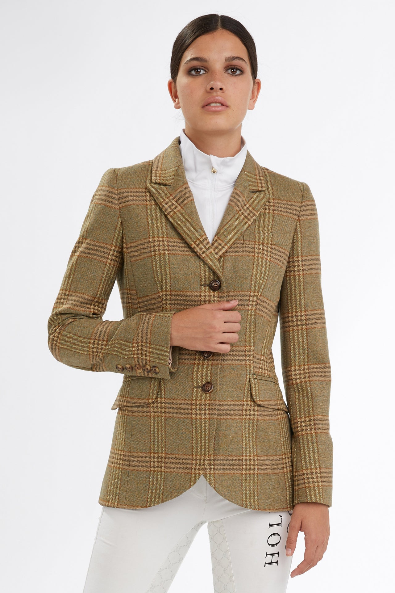 Tweed Riding Jacket (Leveret)