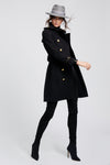 Marlborough Trench Coat (Black)