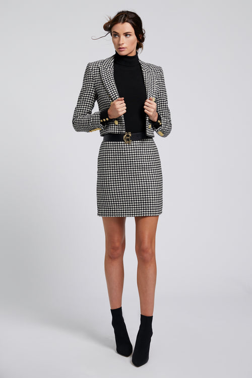Chelsea Skirt (Houndstooth)