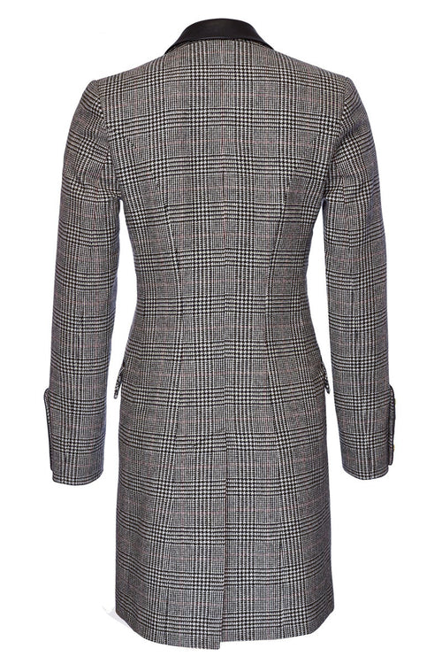 Kempton Coat (Black Prince of Wales Check)
