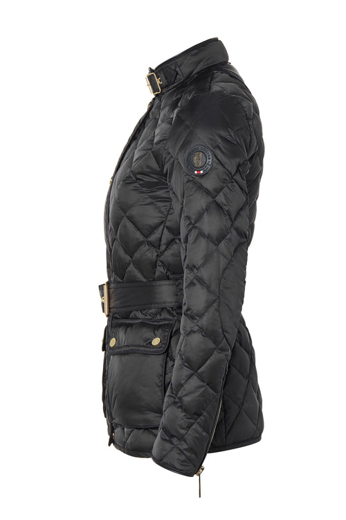 Heritage Quilted Jacket (Black)