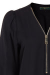 Zip Shirt (Black)