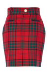 Knightsbridge Skirt (Red Tartan)